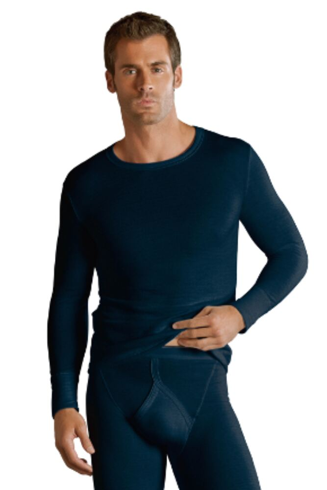 Mens 1 Pack Jockey Thermal Long Sleeved Shirt 25% OFF This Style