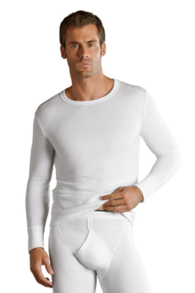 Mens 1 Pack Jockey Thermal Long Sleeved Shirt