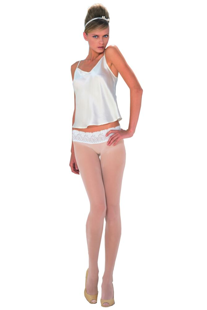 Ladies 1 Pair Trasparenze Katerine Seamless Bridal Tights 50% OFF