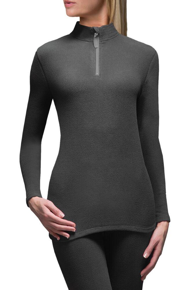 Ladies 1 Pack SockShop Heat Holders Microfleece Base Layer Long Sleeved Top