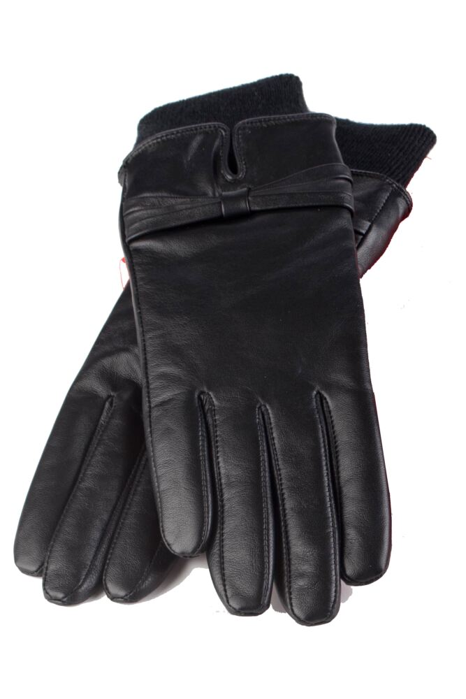 Ladies 1 Pair Heat Holders Leather Gloves 1.2 TOG