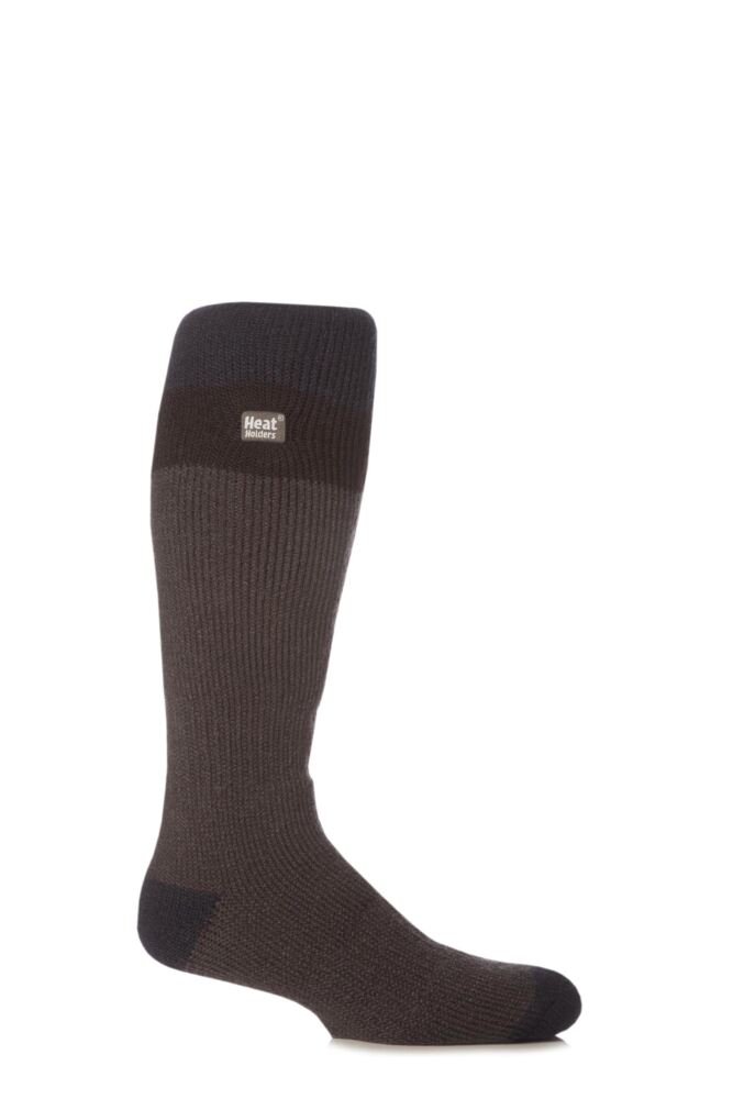 Mens 1 Pair SockShop Ski Heat Holders Thermal Socks