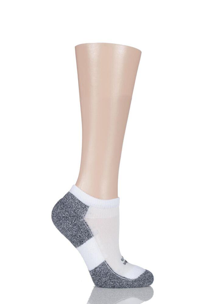 Ladies 1 Pair Thorlos Lite Running Thin Cushion Micro Mini Crew Socks