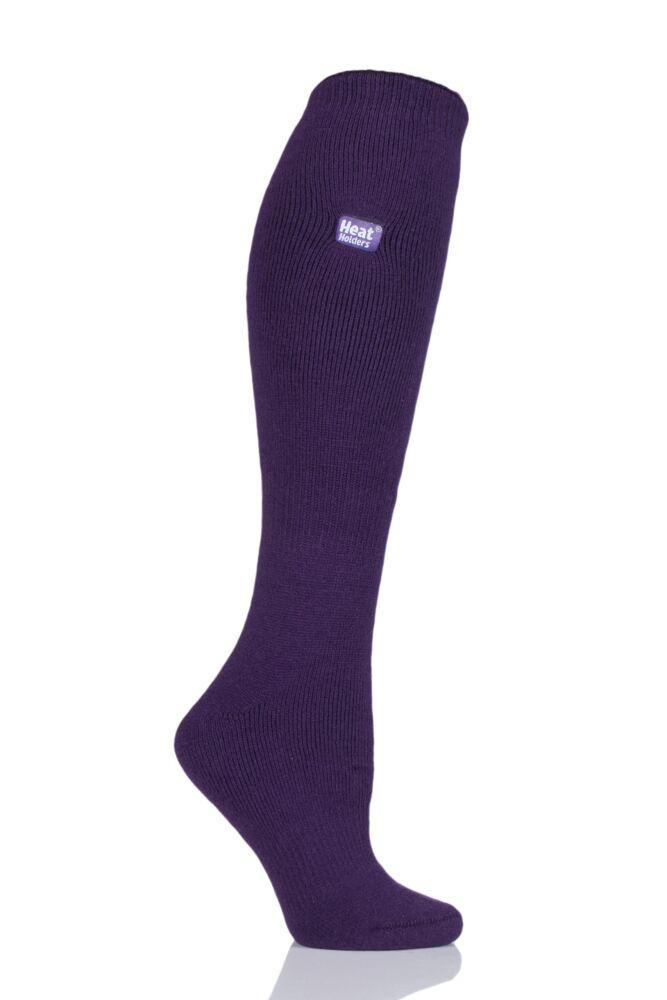 Ladies 1 Pair Heat Holders 1.6 TOG Lite Knee High Socks