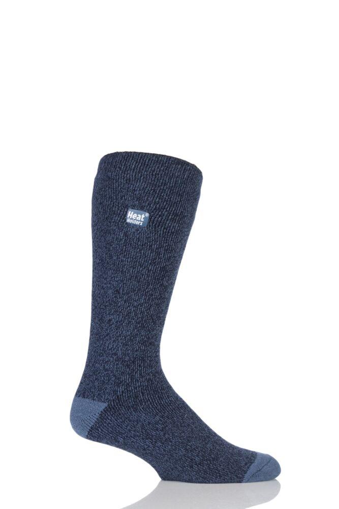 Mens 1 Pair Heat Holders 1.6 TOG Lite Twisted Yarn Socks