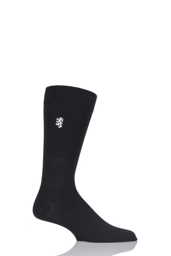 Mens 1 Pair Pringle of Scotland 80% Sea Island Cotton Plain Socks