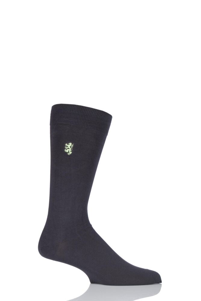 Mens 1 Pair Pringle of Scotland 80% Sea Island Cotton Plain Socks