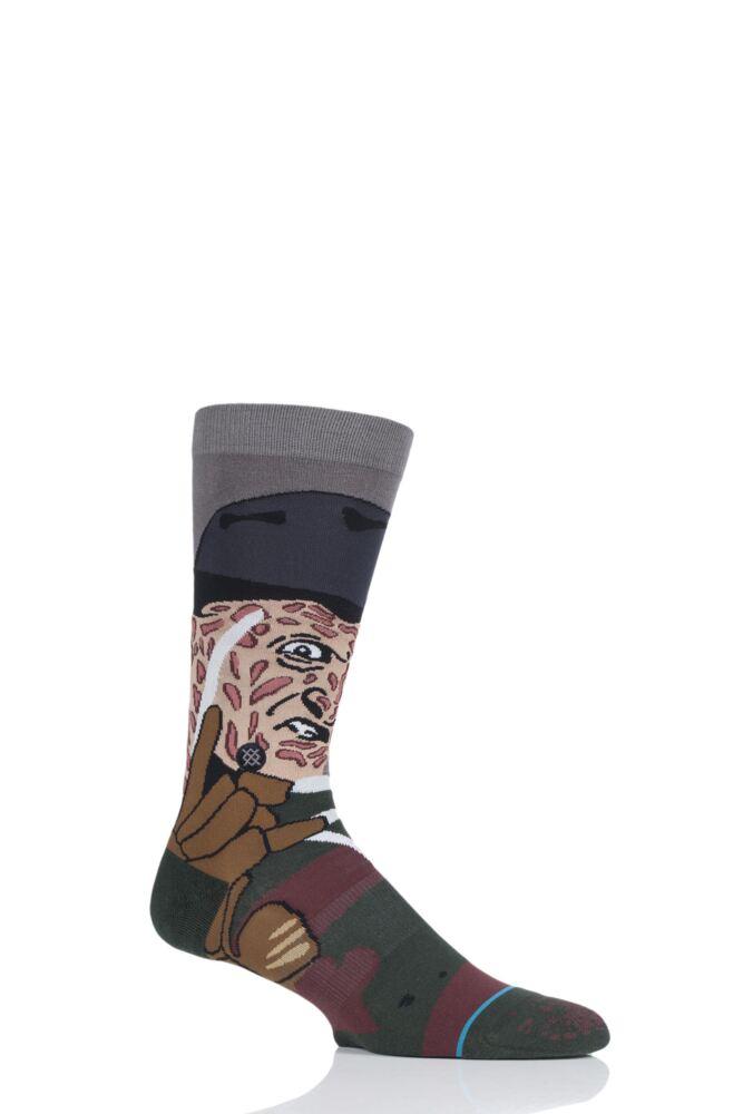 Mens 1 Pair Stance A Nightmare on Elm Street Freddy Socks
