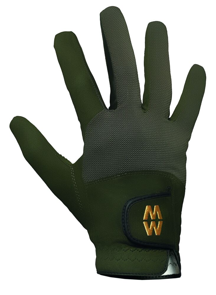 Mens and Ladies 1 Pair MacWet Short Mesh Sports Gloves In 6 Colours