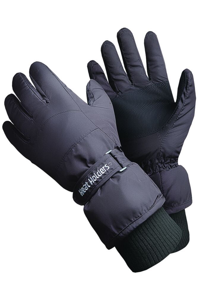 Mens 1 Pair Heat Holders 2.3 TOG Ski Gloves