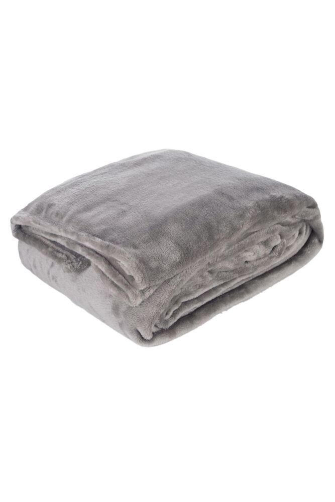 SockShop Heat Holders Snuggle Up Thermal Blanket In Moon Rock