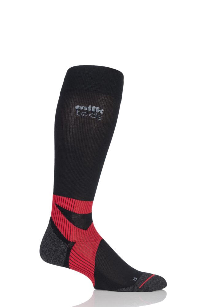Mens and Ladies 1 Pair MilkTEDS Sports Socks with ABLS Support System