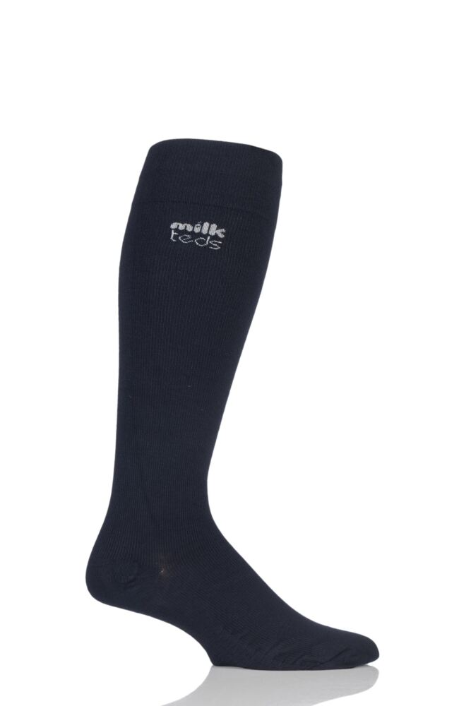 Mens and Ladies 1 Pair MilkTEDS Travel Compression Socks
