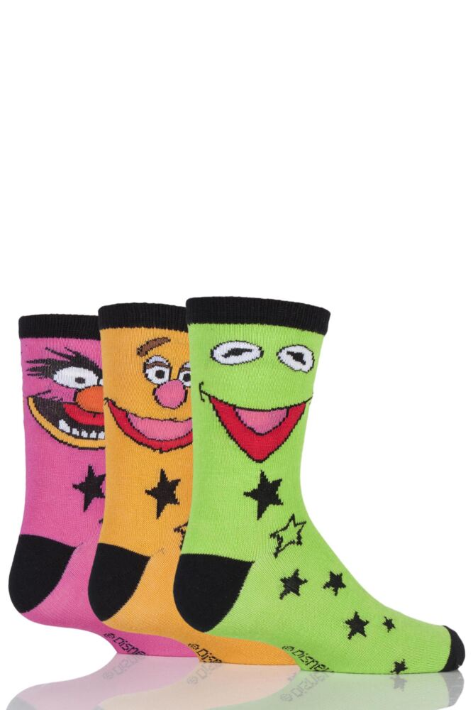Boys 3 Pair SockShop Muppets Socks
