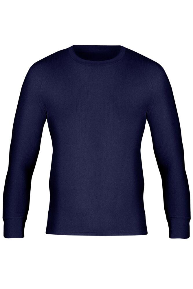 Mens Workforce Workwear Heavy Weight Thermal Long Sleeved Vest