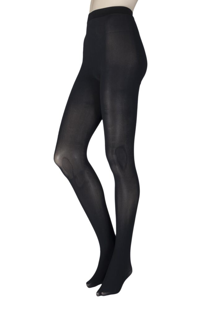 Ladies 1 Pair Couture by Silky Ultimates Seamless and Ladder Proof 60 Denier Opaque Tights