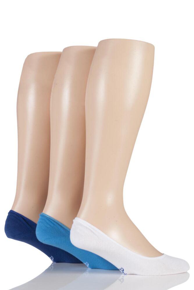 Mens 3 Pair Pringle Gourock Cotton Shoe Liners