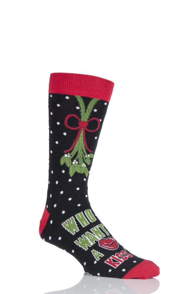 SILLY SOCKS RETRO NOVELTY CHRISTMAS SOCKS. these XMAS socks look just like the real deal. They`re a hilarious gift and are sure to raise a smile wherever you decide to break them out.