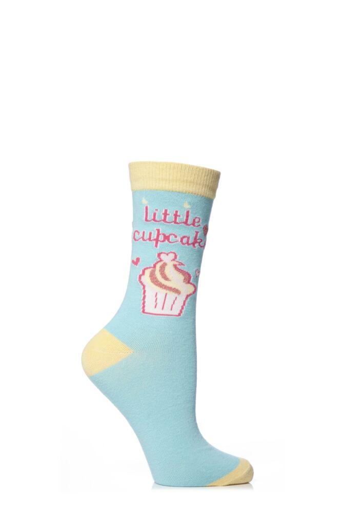 Ladies 1 Pair SockShop Dare To Wear My Little Cupcake Socks