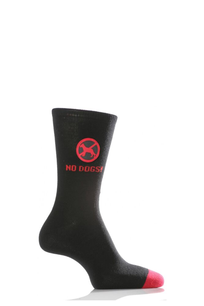 Mens 1 Pair SockShop Dare to Wear - No Dogs