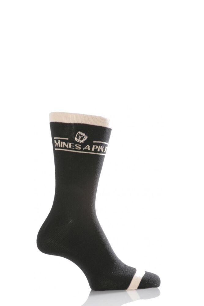 Mens 1 Pair SockShop Dare to Wear - Mine's A Pint! - Worth £2.99