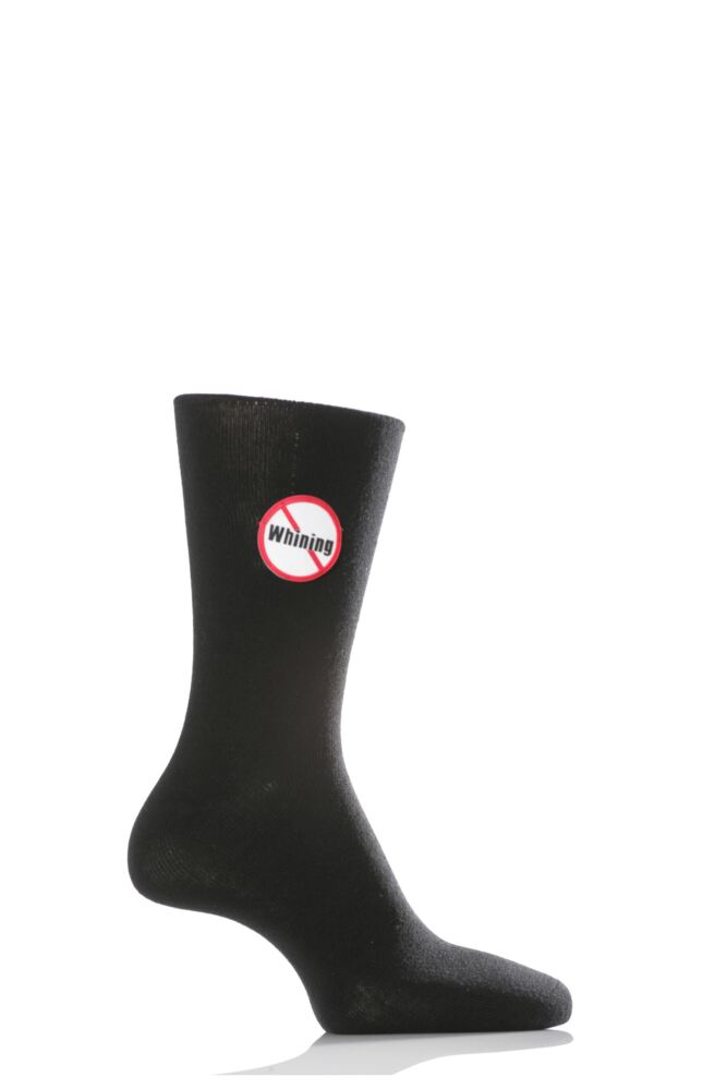 Mens 1 Pair SockShop Dare to Wear - No Whining