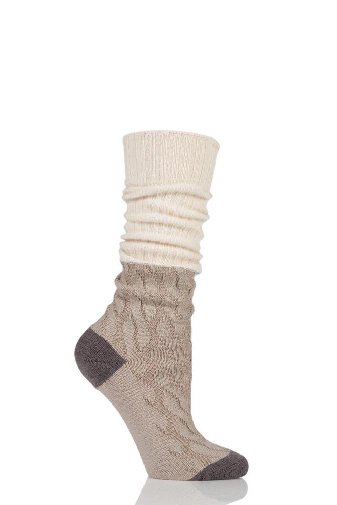 Ladies 1 Pair Pantherella Cashmere Blend Clara Slouch Boot Socks