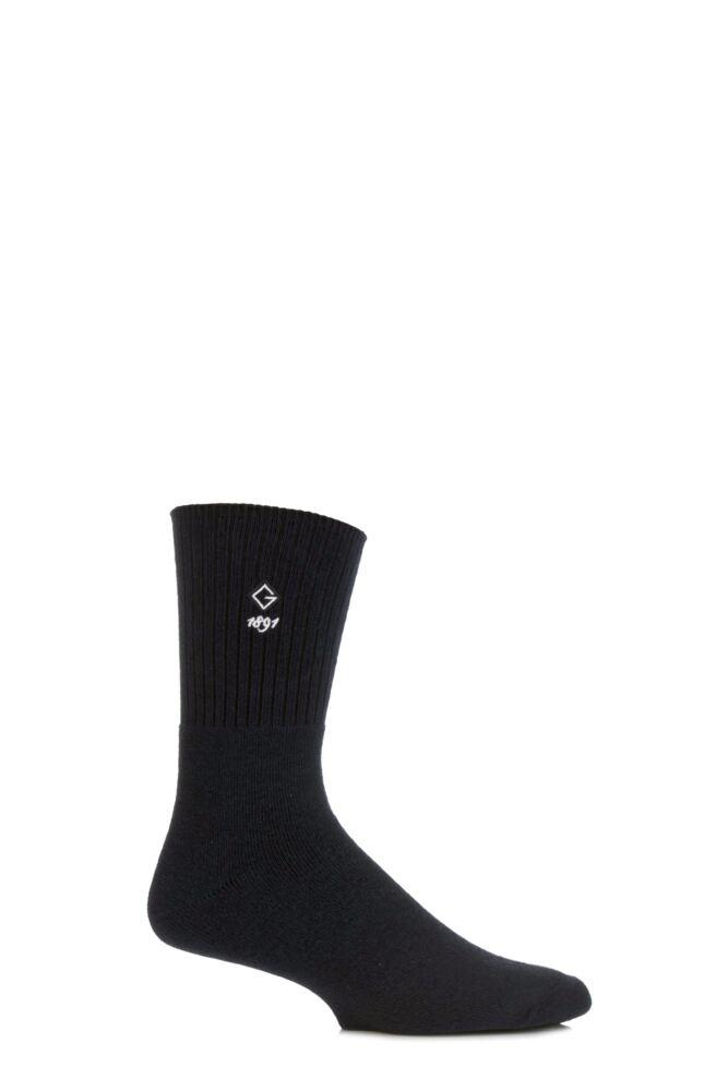 Mens 1 Pair Glenmuir Cushioned Comfort Cuff Golf Socks