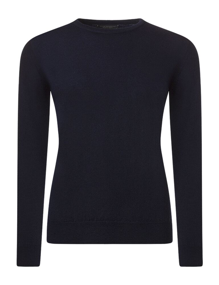 Ladies Great & British Knitwear 100% Merino Round Neck Jumper