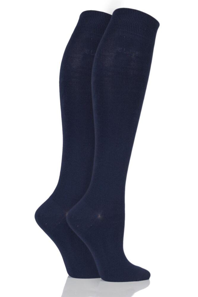 Plain Knee Highs - Navy