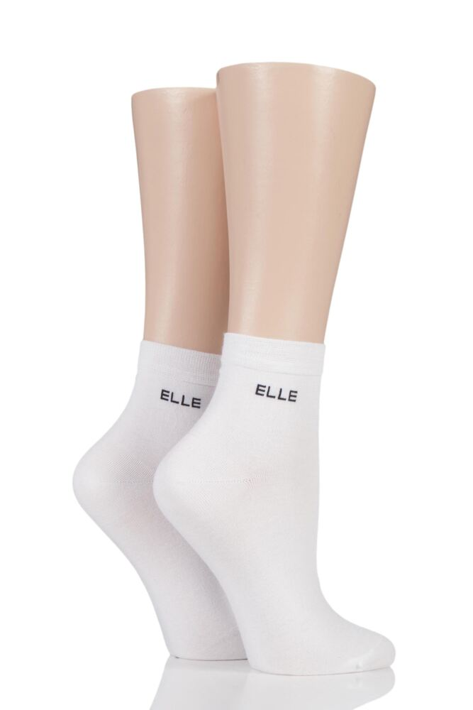 Anklet Socks - White