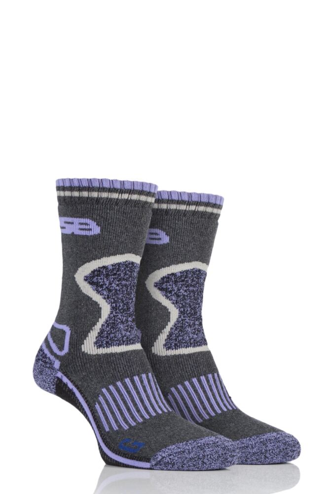 Ladies 2 Pair Storm Bloc with BlueGuard Wool Blend Socks