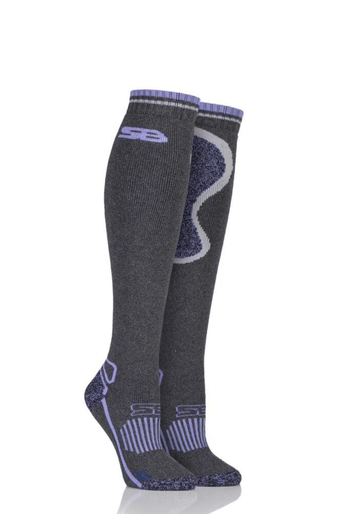 Ladies 1 Pair Storm Bloc with BlueGuard Equestrian Long Wool Blend Socks