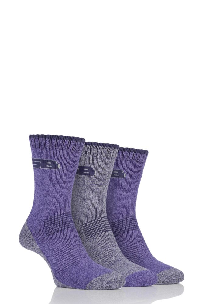Ladies 3 Pair Storm Bloc Performance Boot Socks