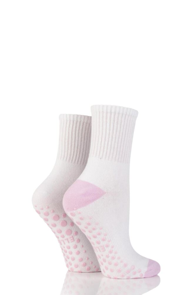 Ladies 2 Pair Elle Sport Yoga Socks