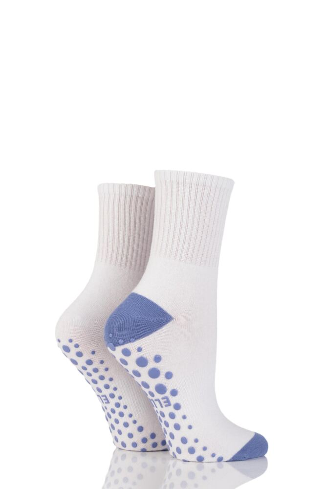 Ladies 2 Pair Elle Sport Yoga Socks