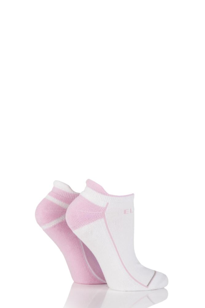 Ladies 2 Pair Elle Sports Trainer Socks