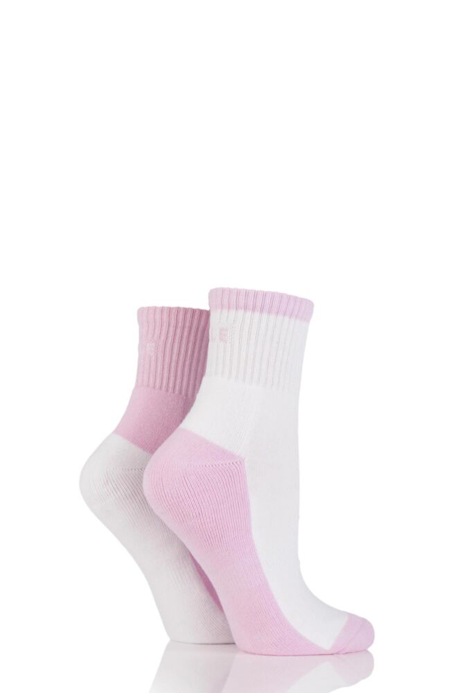 Ladies 2 Pair Elle Sports Cushioned Ankle Socks