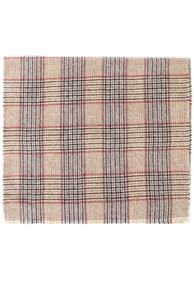 Mens and Ladies Great & British Knitwear Made In Scotland Tartan 100% Cashmere Scarf