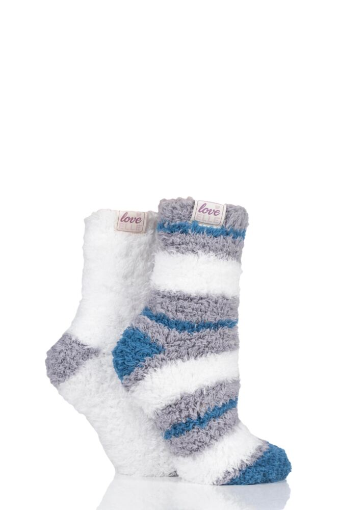 ELLE FLUFFY AND COSY BLISSFUL BED TIME SOCKS