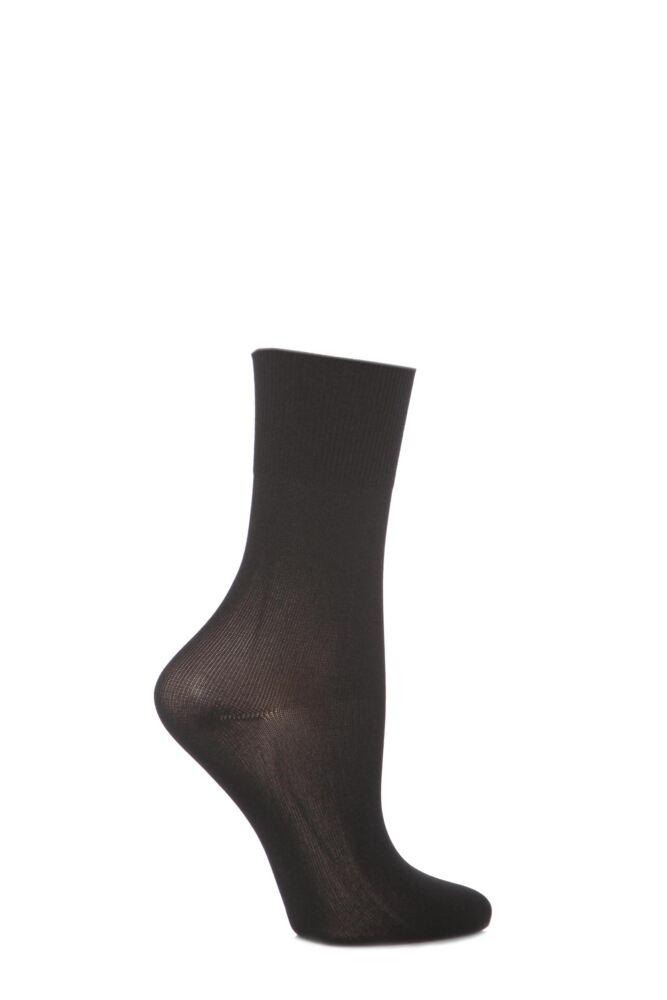 Girls 1 Pair Silky Ballet Socks