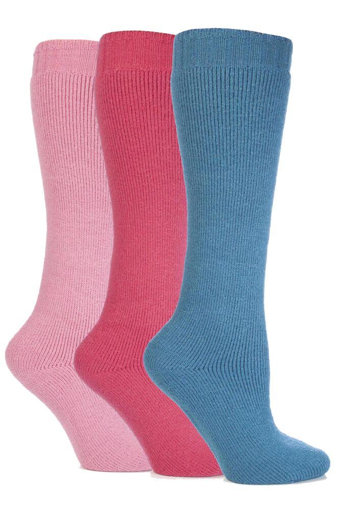 Ladies 3 Pair Outstanding Value Wellington Boot Socks