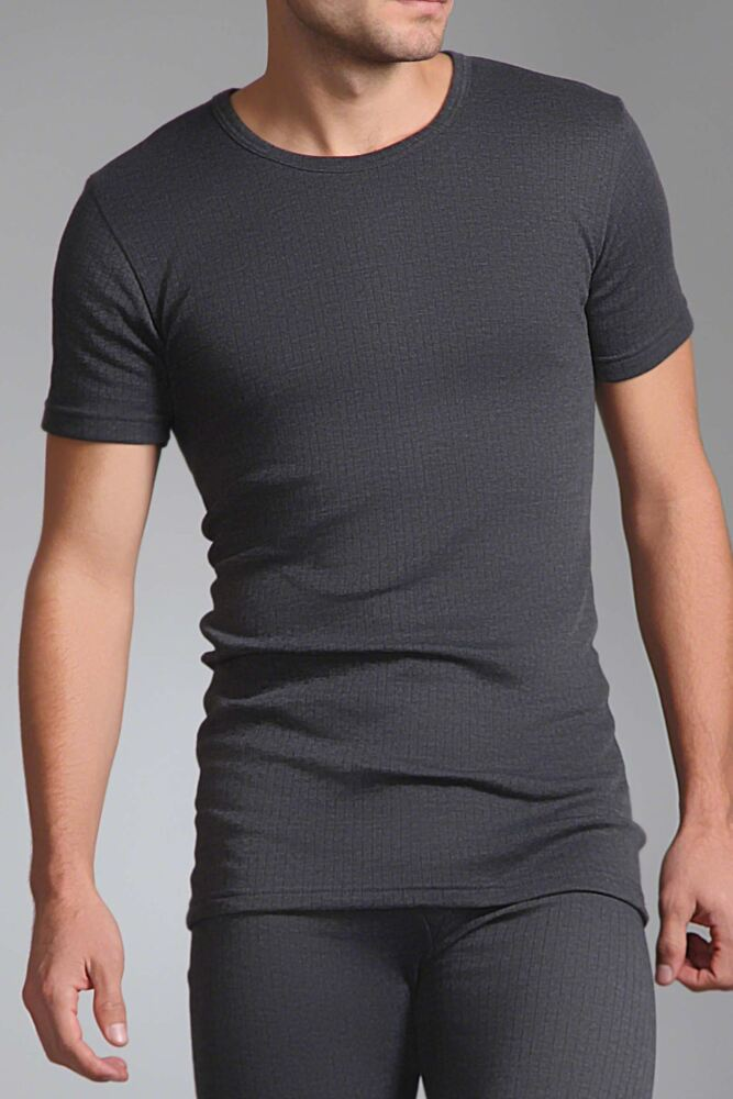 Mens SockShop Heat Holders Short Sleeved Thermal Vest