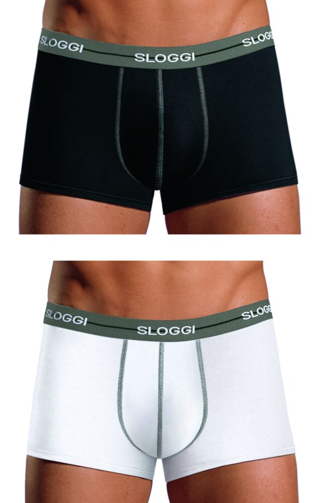Mens 2 Pack Sloggi Start Hipsters