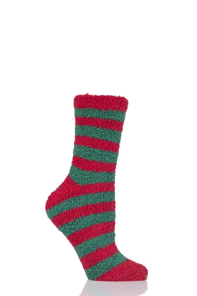 Ladies 1 Pair SockShop Christmas Novelty Socks