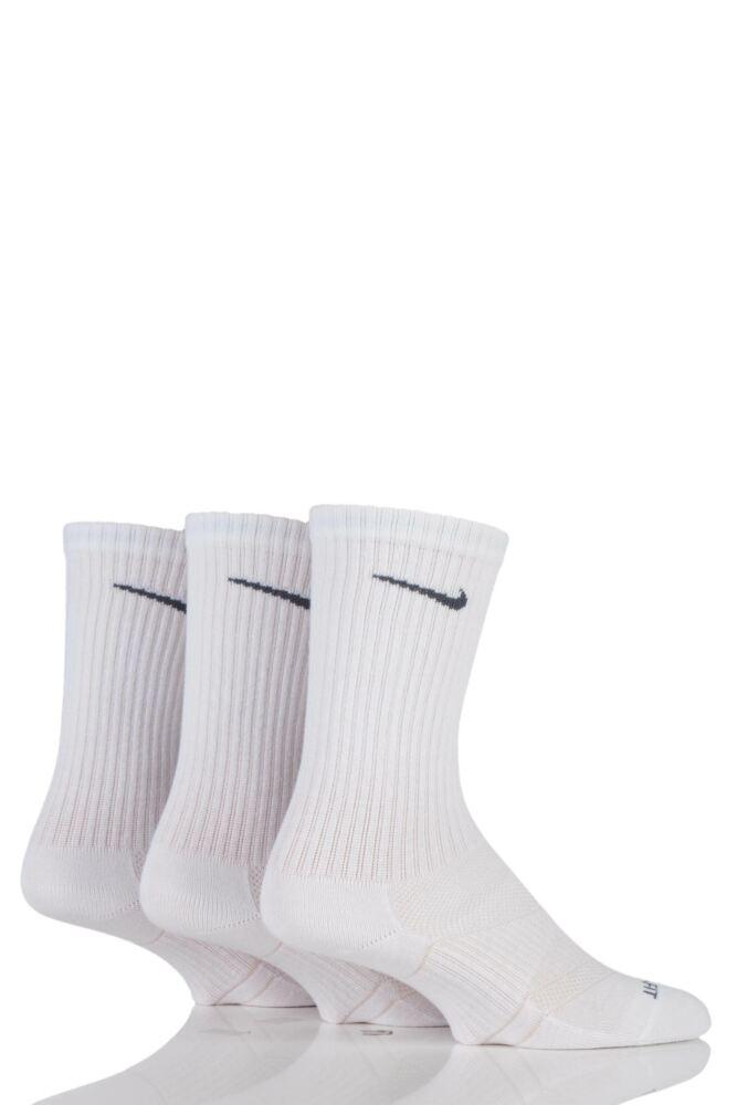 Mens and Ladies 3 Pair Nike Light Weight Dri-FIT Training Crew Socks