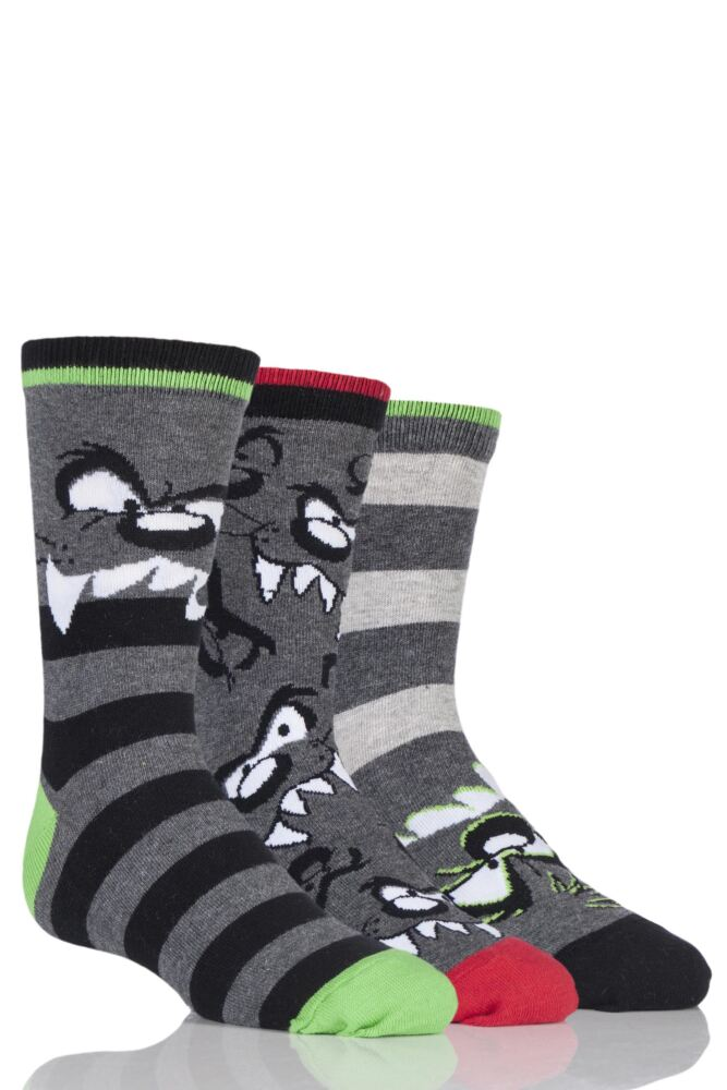 Kids 3 Pair SockShop Taz Socks