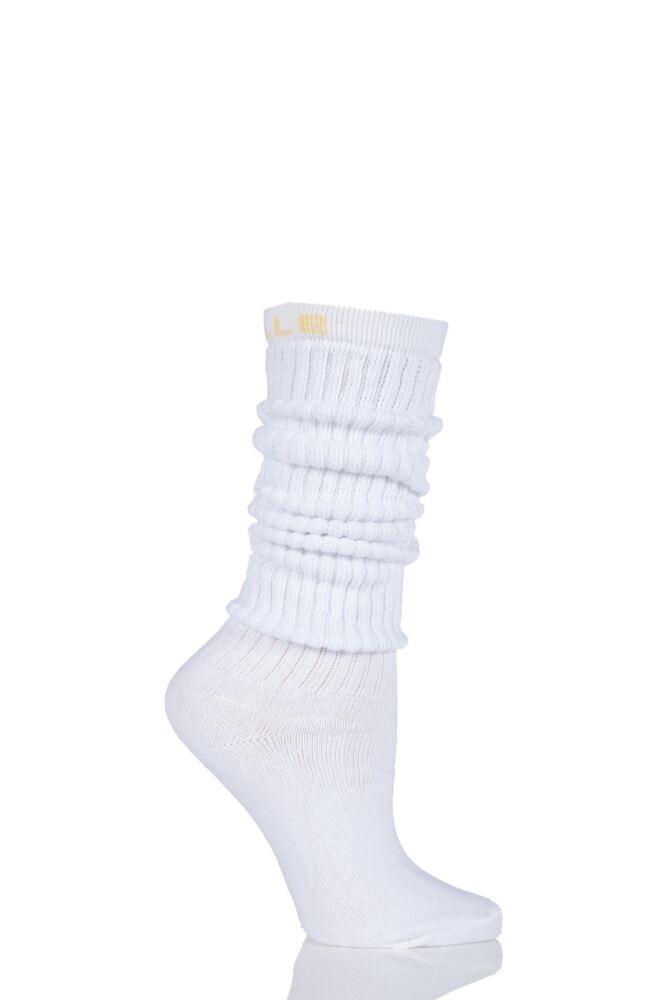 Ladies 1 Pair Elle Cotton Slouch Socks