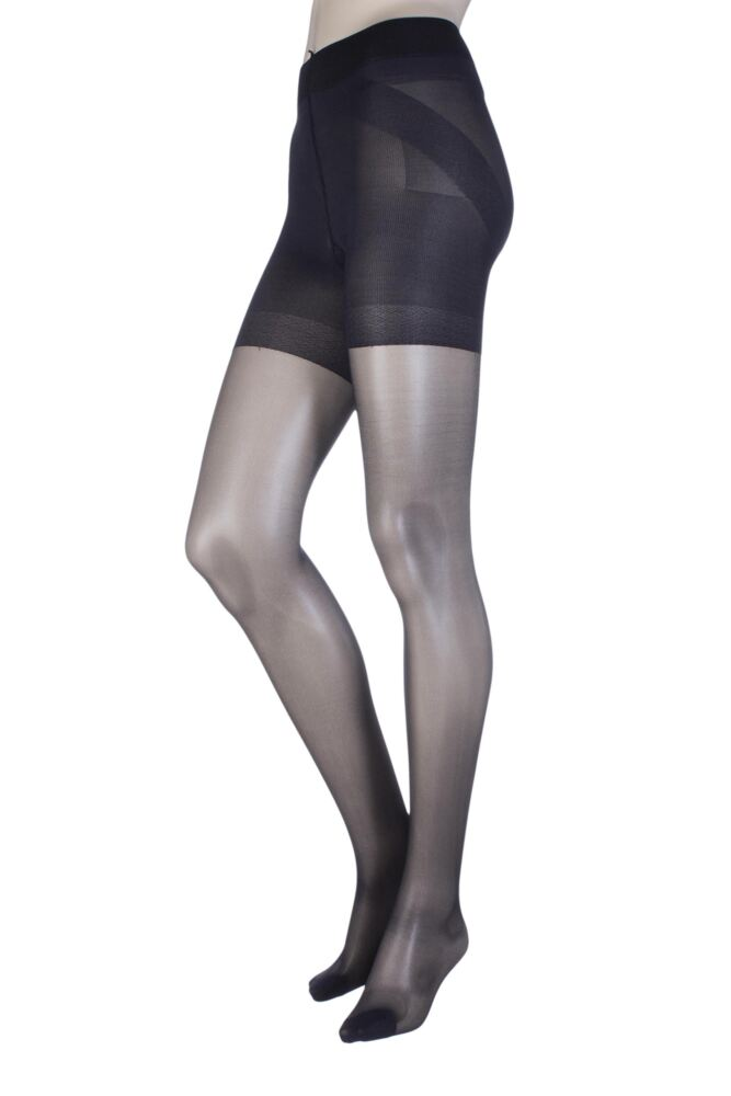 Ladies 1 Pair Oroblu Shock Up 40 Denier Bottom Lifting Shaping Tights