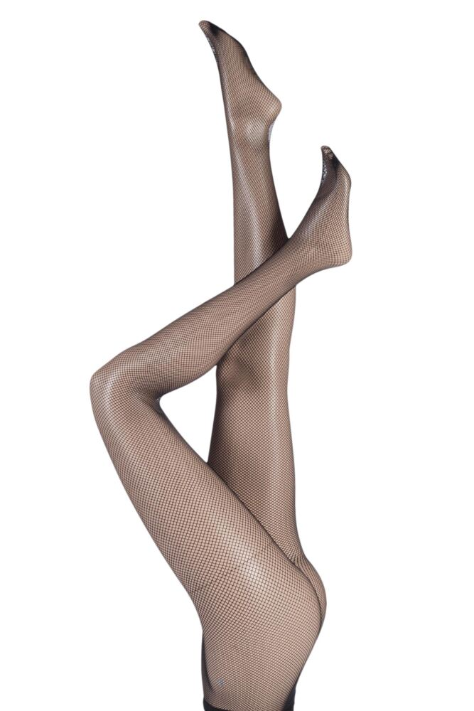 Ladies 1 Pair Oroblu Tricot Classic Fishnet Tights